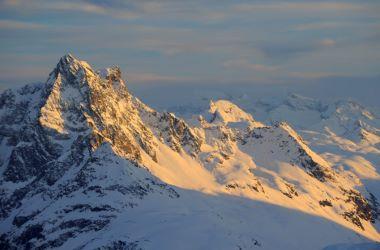 Arlberg Sonnenaufgang