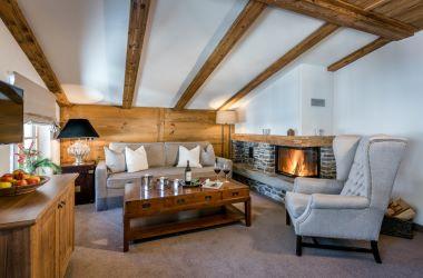 Suite Valluga Wohnzimmer