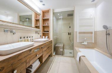 Suite Valluga Badezimmer